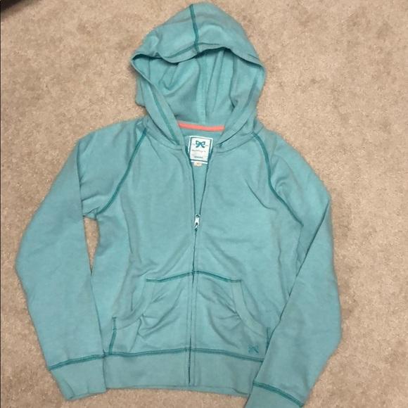 Gymboree Butterfly Girl Hooded Zip Front Sweatshirt NWT Size 3 4